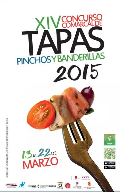 Concurso Tapas Ribera del Duero 2015