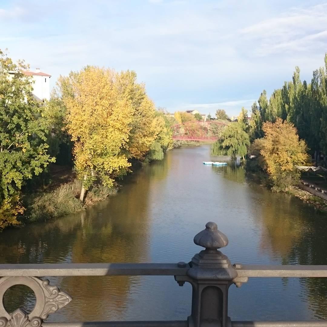 Río Duero en Otoño