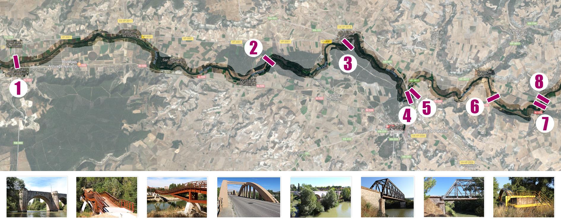 mapa-entero_puentes_ribera_duero_valladolid