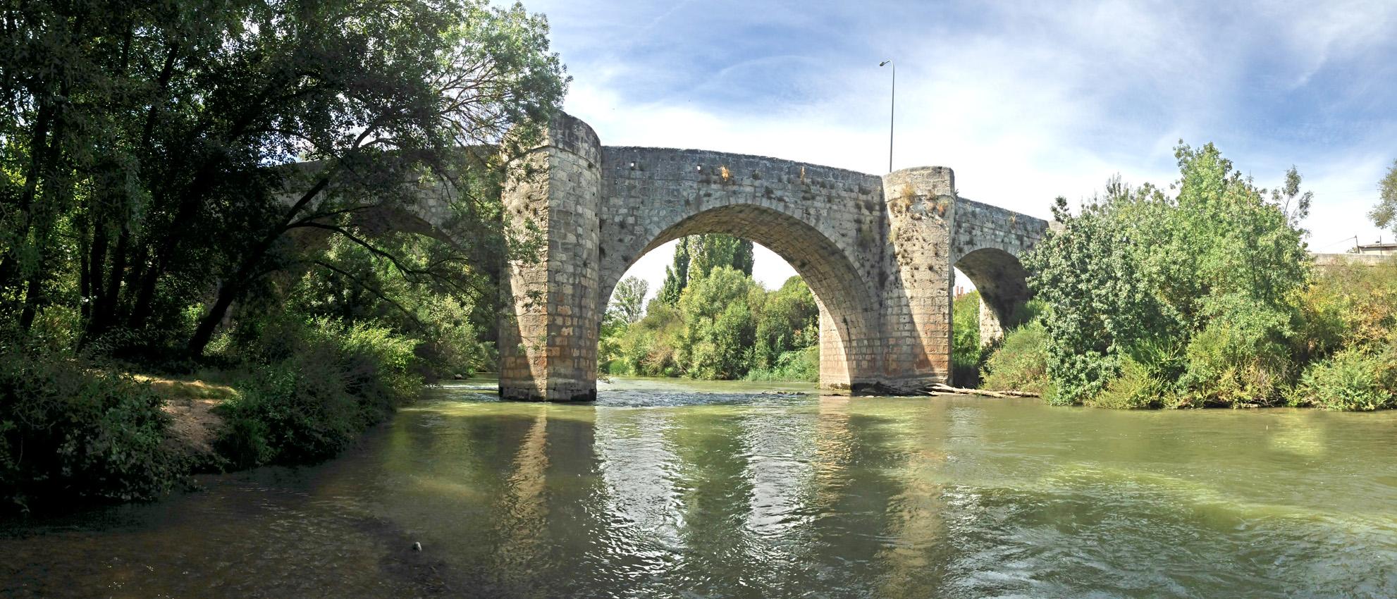 Puente quintanilla de on simo y olivares de duero ruta for Linea duero oficina virtual