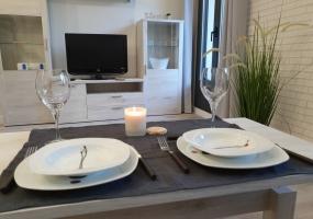Dining Room Aranda Apartments