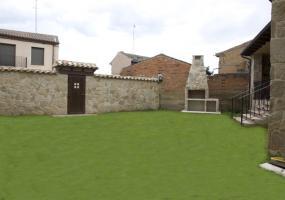 Casa Rural Maribella: Jardín interior