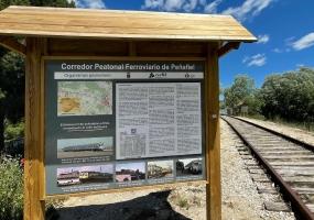 Corredor Peatonal Ferroviario de Peñafiel