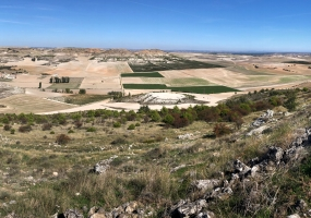 Pico Cuchillejo vistas Castrillo Duero