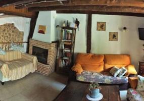 Salón Planta Baja Casa Azul de la Ribera del Duero