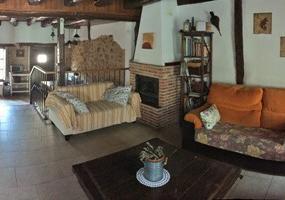 Salón Comedor Casa Azul de la Ribera del Duero