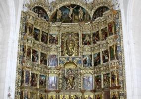 Interior Iglesia de San Pelayo: Retablo