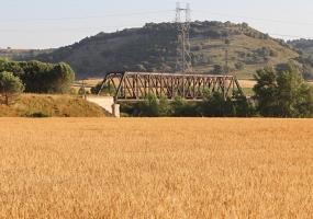 Puente Ferrocarril El Carrascal (Línea Valladolid - Ariza km. 62)