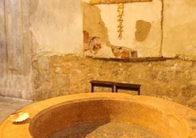 Ex Colegiata de Nuestra Señora de la Asunción de Roa de Duero: Pila bautismla