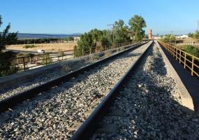 """Puente Ferrocarril """"los Desesperados"""" Aranda de Duero"""