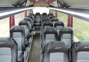 Interior Autocar Top Class