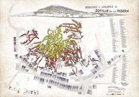 Plano Bodegas Subterraneas Sotillo de la Ribera