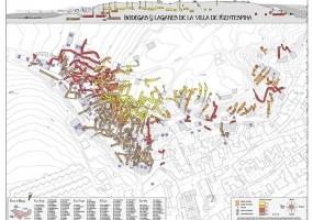 Plano Bodegas Subterráneas de Fuentespina