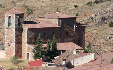 Honrubia de la Cuesta Iglesia SanCristóbal