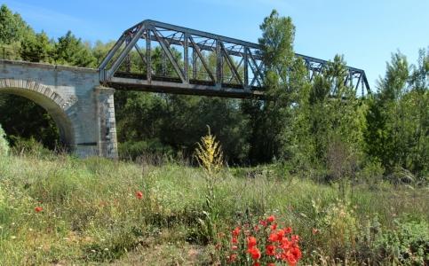 Vadocondes Puente Metálico