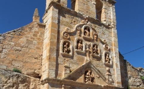 Hontangas: Ermita de la Virgen de la Cueva