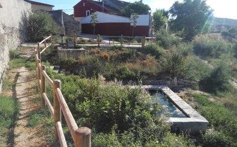 Quintanilla de Arriba: Pilón del Caño y Noria