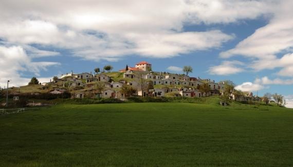 Paraje del Cotarro de las bodegas de Moradillo de Roa