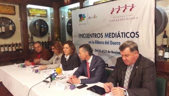 I JORNADAS MEDIÁTICAS RIBERA DEL DUERO